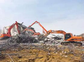 远翔建筑物拆除浅谈工厂拆除的具体细节
